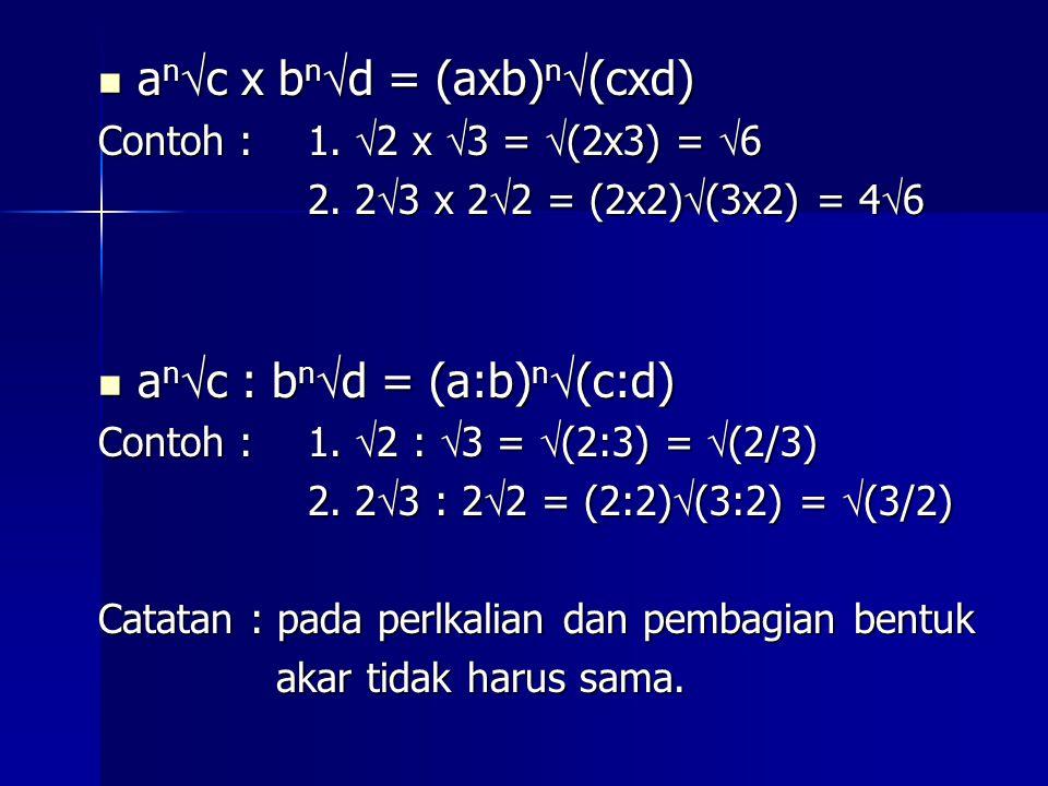 anc x bnd = (axb)n(cxd)