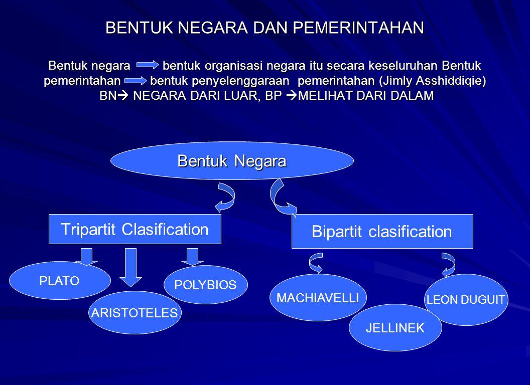 Tripartit Clasification Bipartit clasification