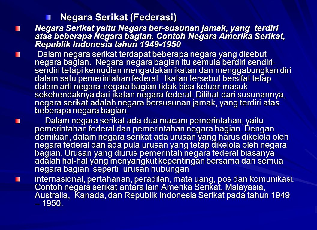 Negara Serikat (Federasi)