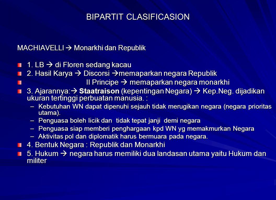 BIPARTIT CLASIFICASION