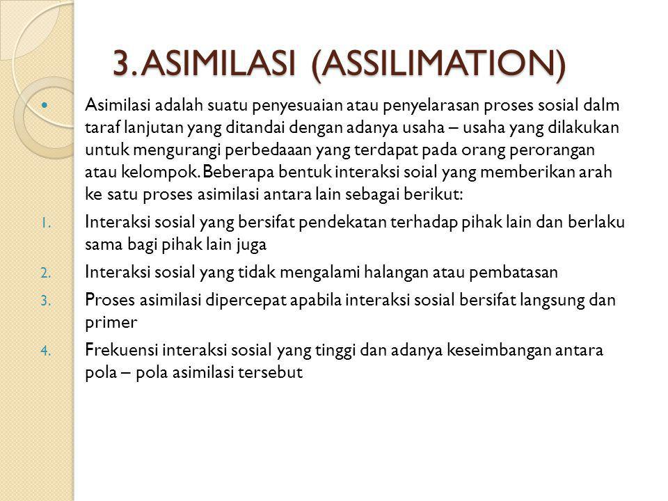 3. ASIMILASI (ASSILIMATION)