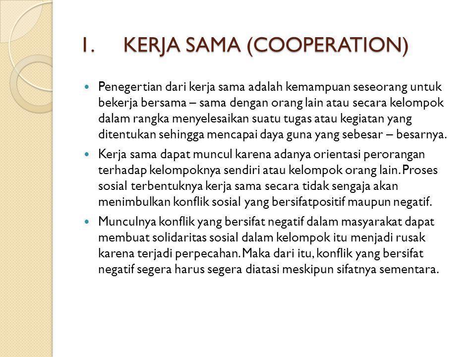 KERJA SAMA (COOPERATION)