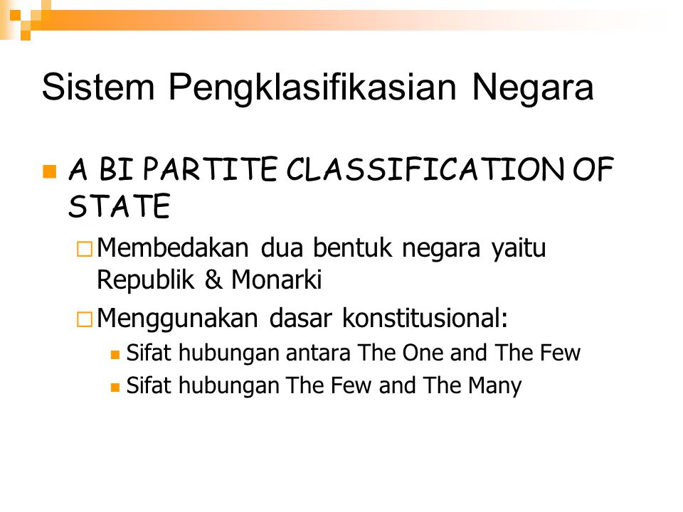 Sistem Pengklasifikasian Negara