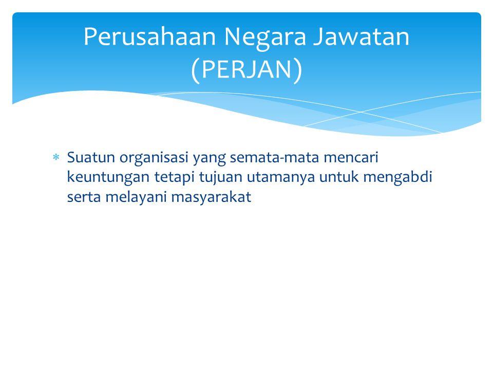 Perusahaan Negara Jawatan (PERJAN)