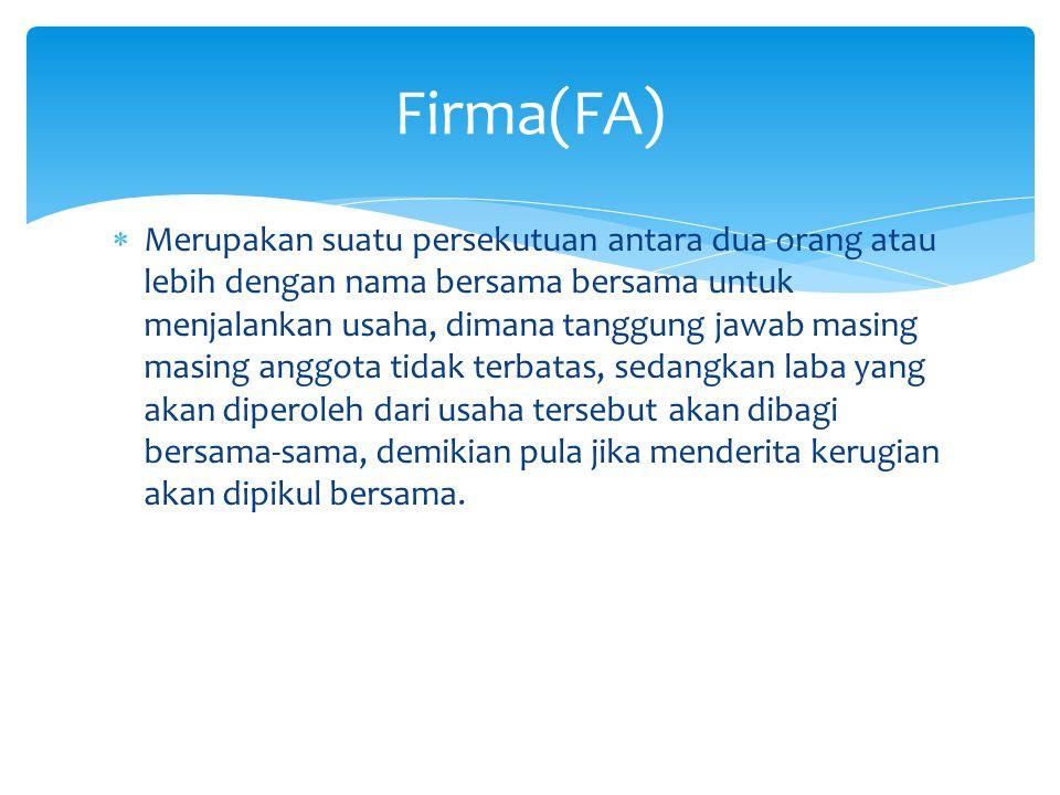 Firma(FA)