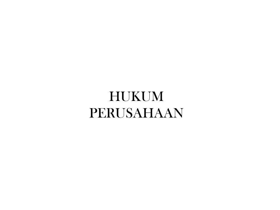 HUKUM PERUSAHAAN