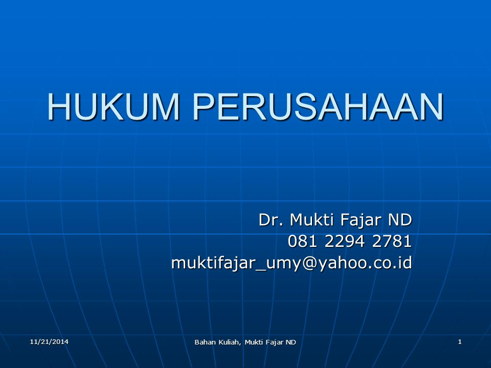 Dr. Mukti Fajar ND 081 2294 2781 muktifajar_umy@yahoo.co.id