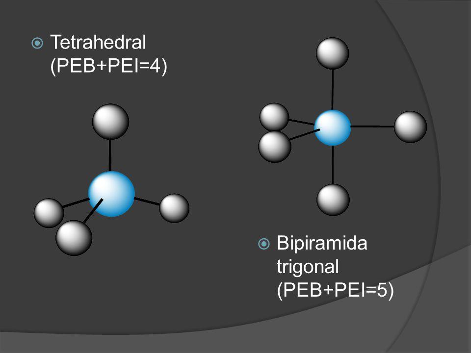 Tetrahedral (PEB+PEI=4)