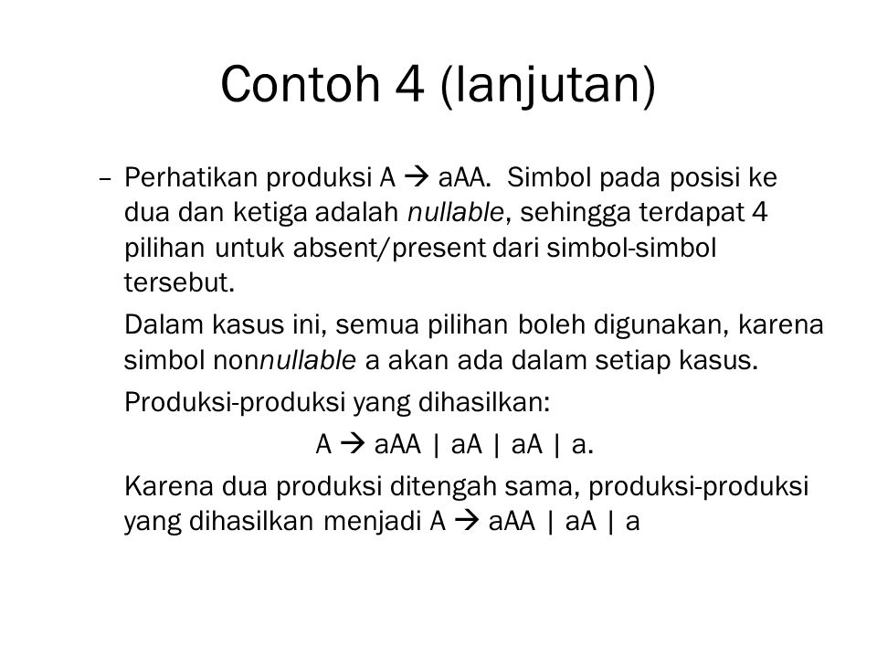 Contoh 4 (lanjutan)