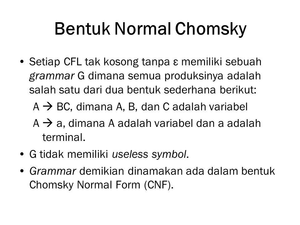 Bentuk Normal Chomsky