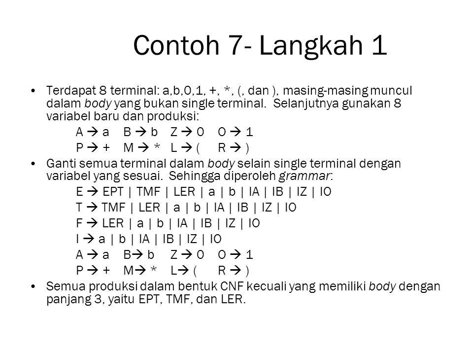 Contoh 7- Langkah 1