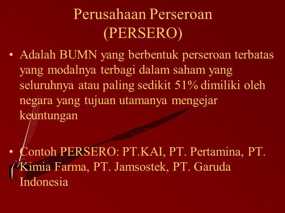 Perusahaan Perseroan (PERSERO)