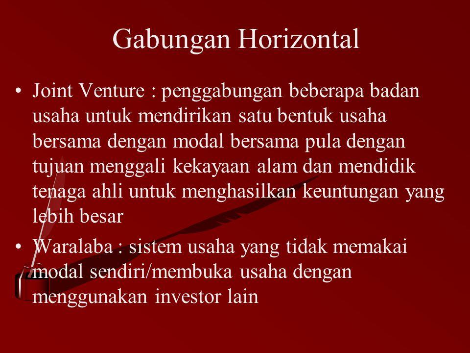 Gabungan Horizontal
