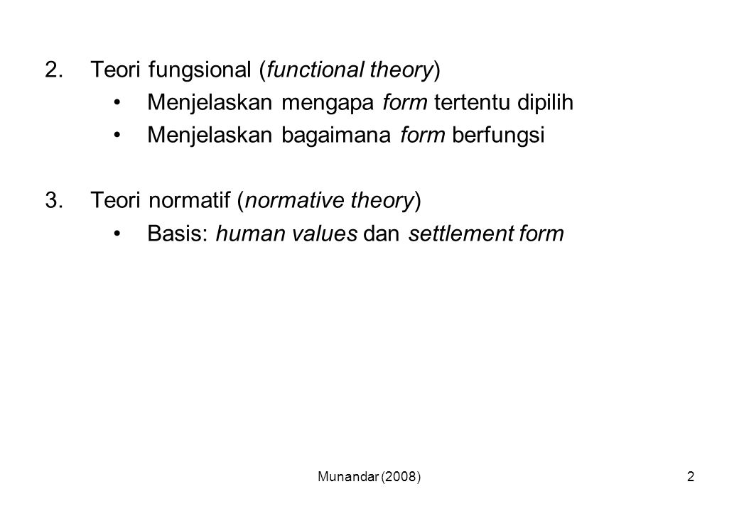 Teori fungsional (functional theory)