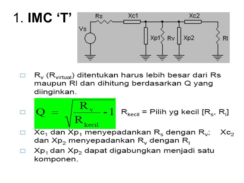 1. IMC 'T'