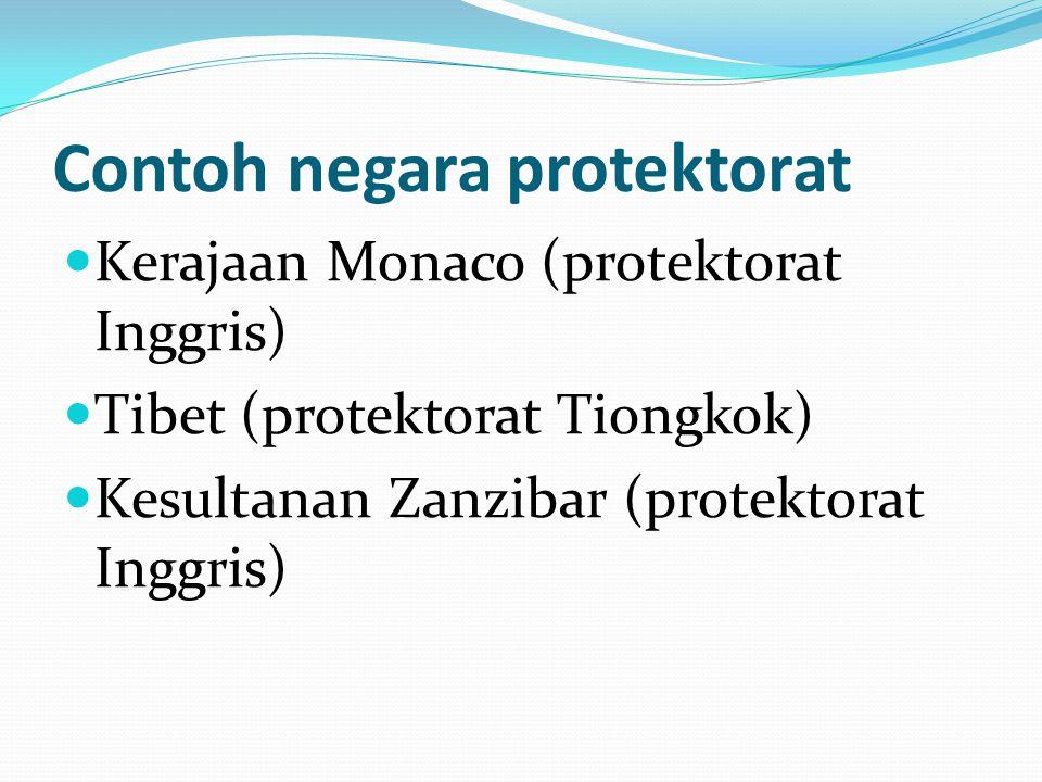 Contoh negara protektorat