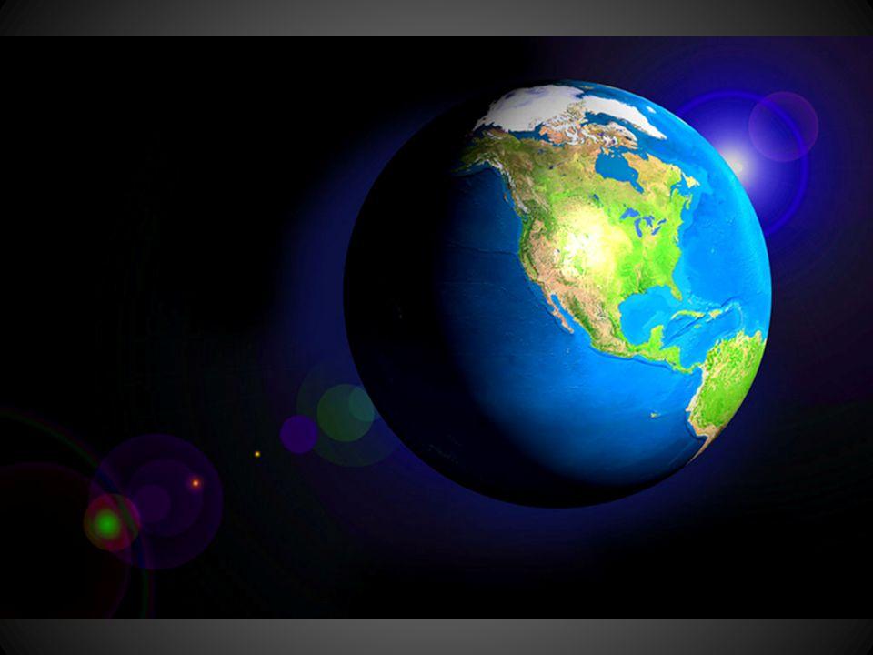 Bumi dilihat dari luar angkasa terlihat bulat, dan rata seperti bola.