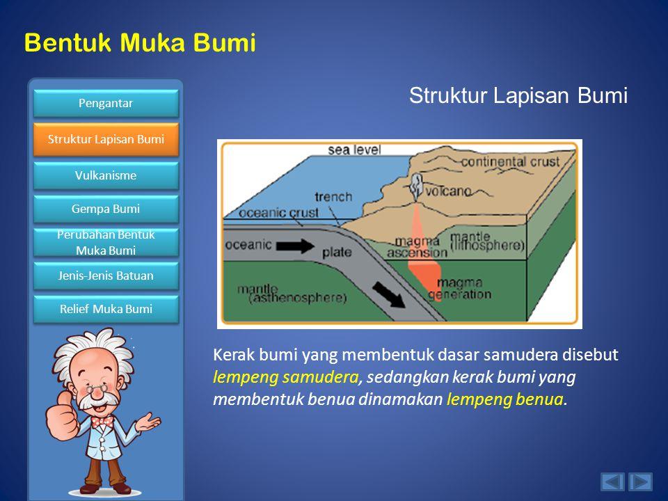 Struktur Lapisan Bumi