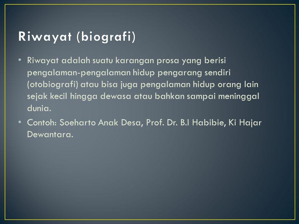 Riwayat (biografi)