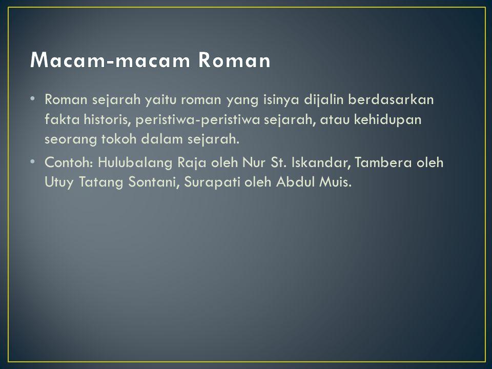Macam-macam Roman