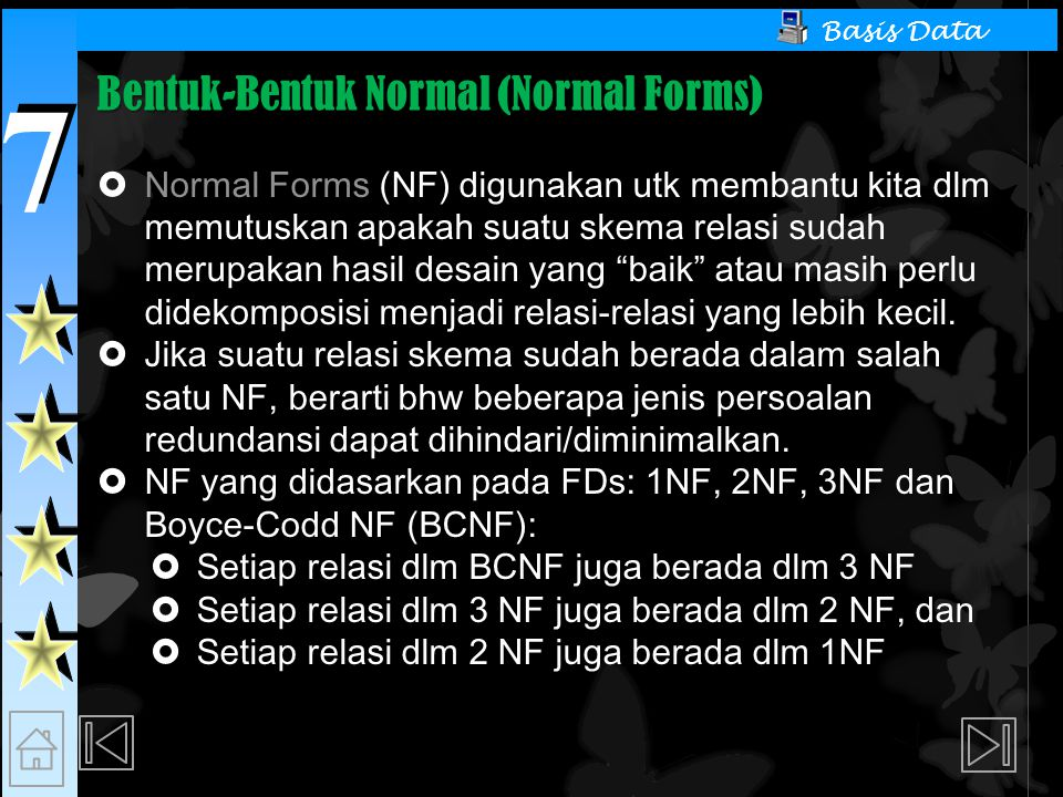 Bentuk-Bentuk Normal (Normal Forms)