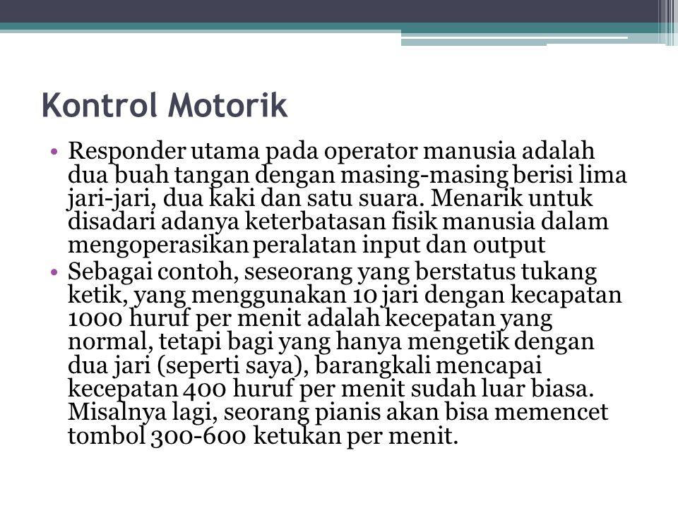 Kontrol Motorik