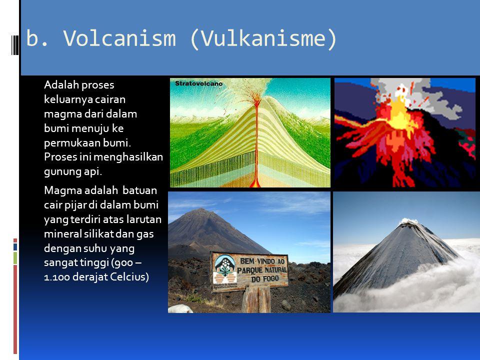 b. Volcanism (Vulkanisme)