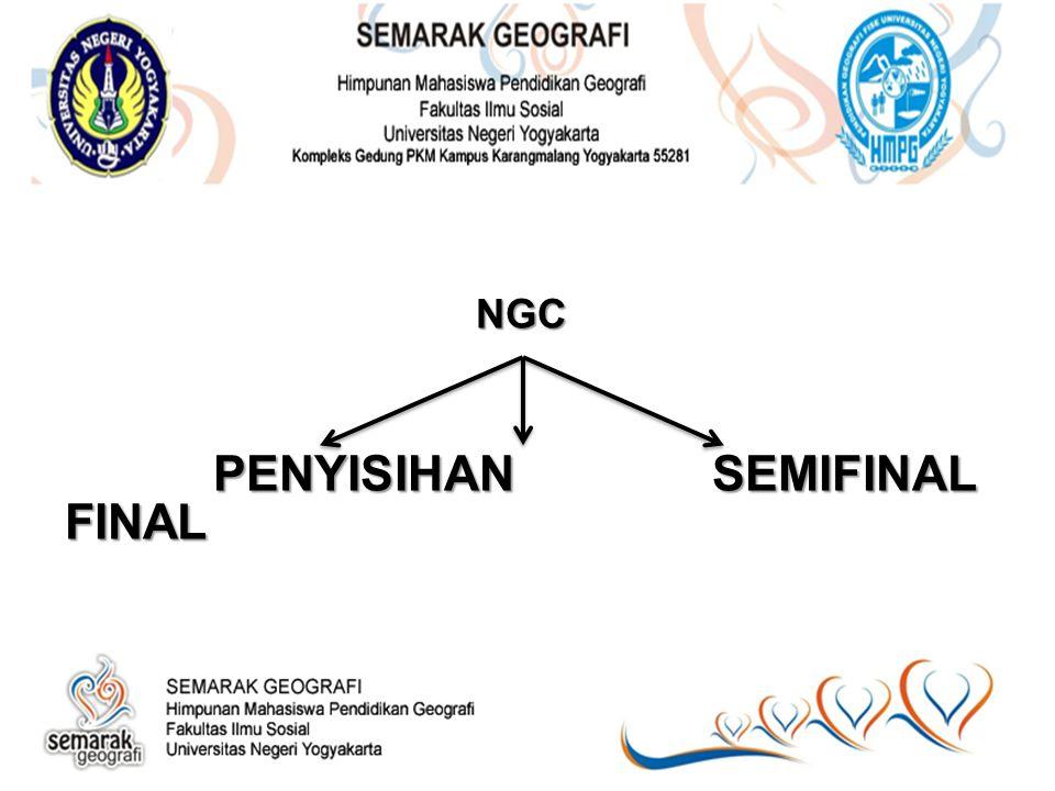 NGC PENYISIHAN SEMIFINAL FINAL