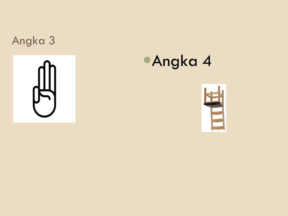 Angka 3 Angka 4