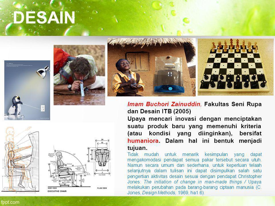DESAIN Imam Buchori Zainuddin, Fakultas Seni Rupa dan Desain ITB (2005)