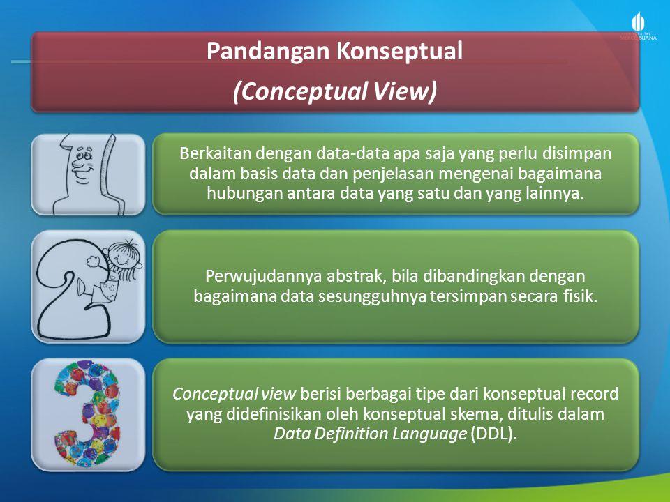 Pandangan Konseptual (Conceptual View)