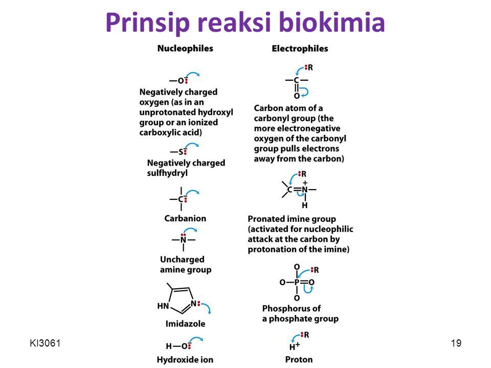 Prinsip reaksi biokimia