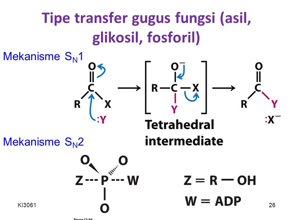 Tipe transfer gugus fungsi (asil, glikosil, fosforil)