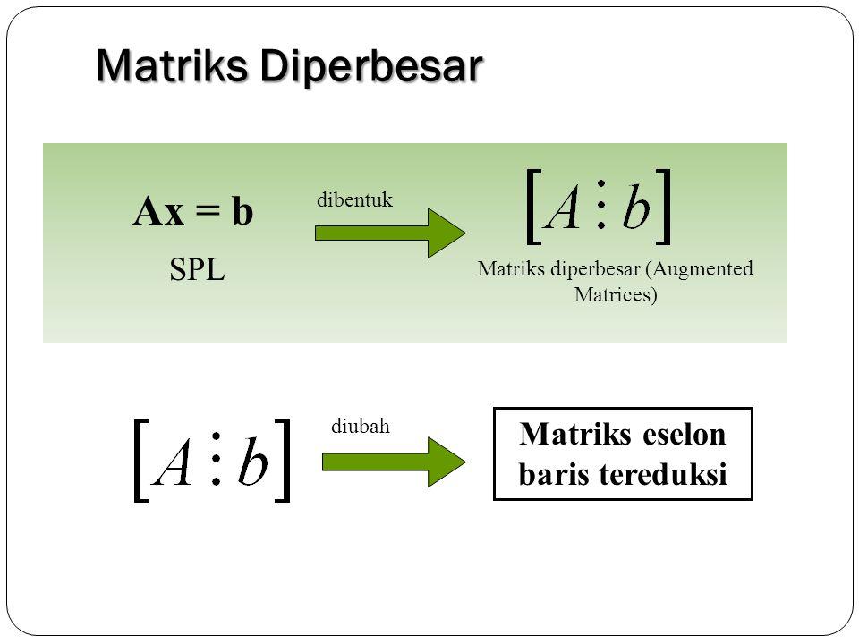 Matriks eselon baris tereduksi