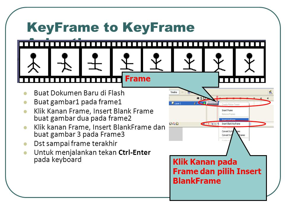 KeyFrame to KeyFrame Animation
