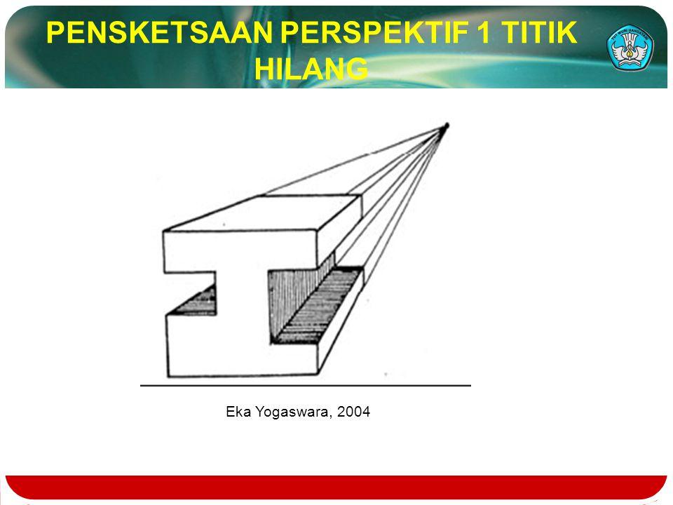 PENSKETSAAN PERSPEKTIF 1 TITIK HILANG