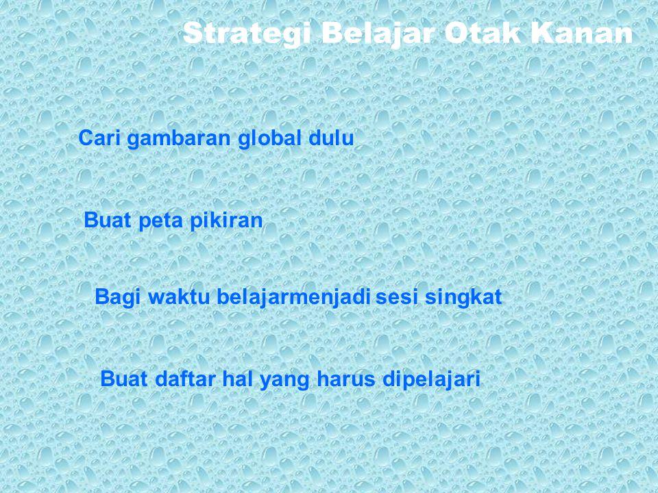 Strategi Belajar Otak Kanan