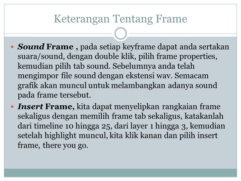 Keterangan Tentang Frame