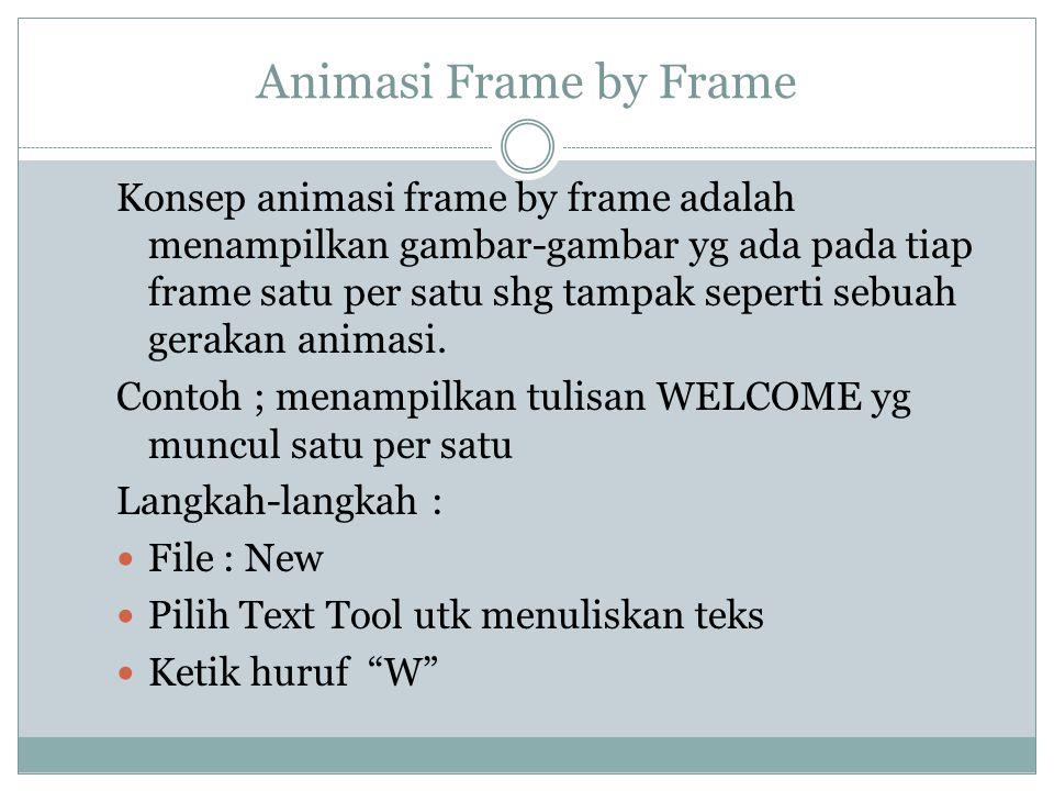 Animasi Frame by Frame