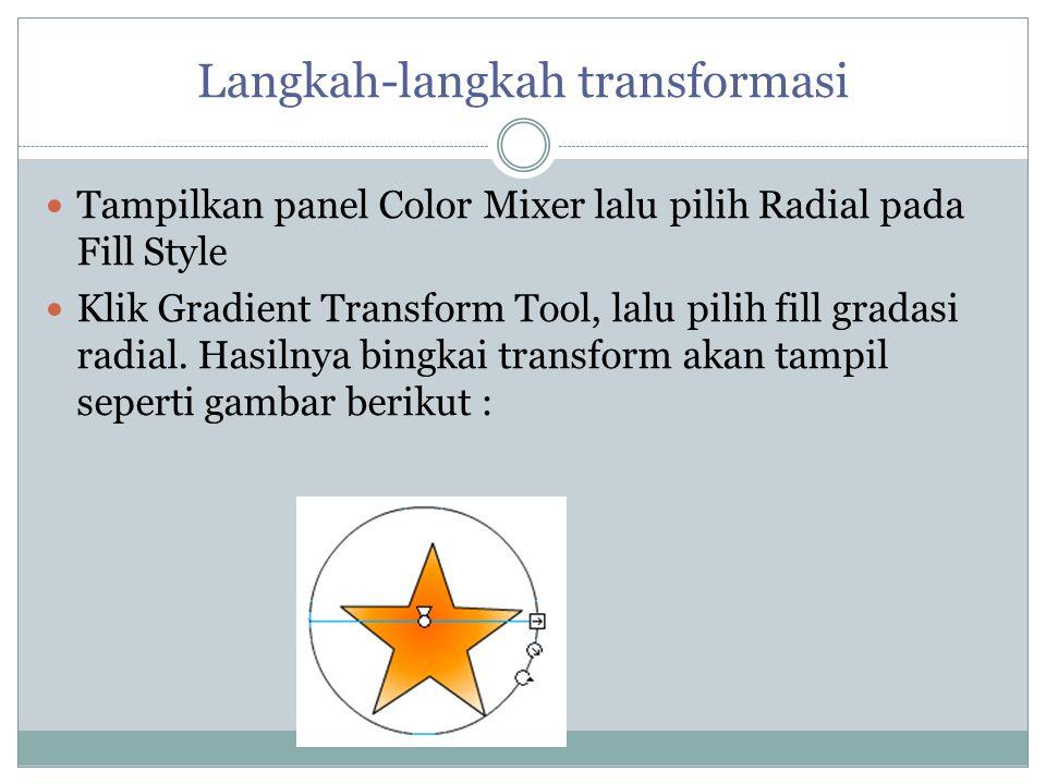 Langkah-langkah transformasi