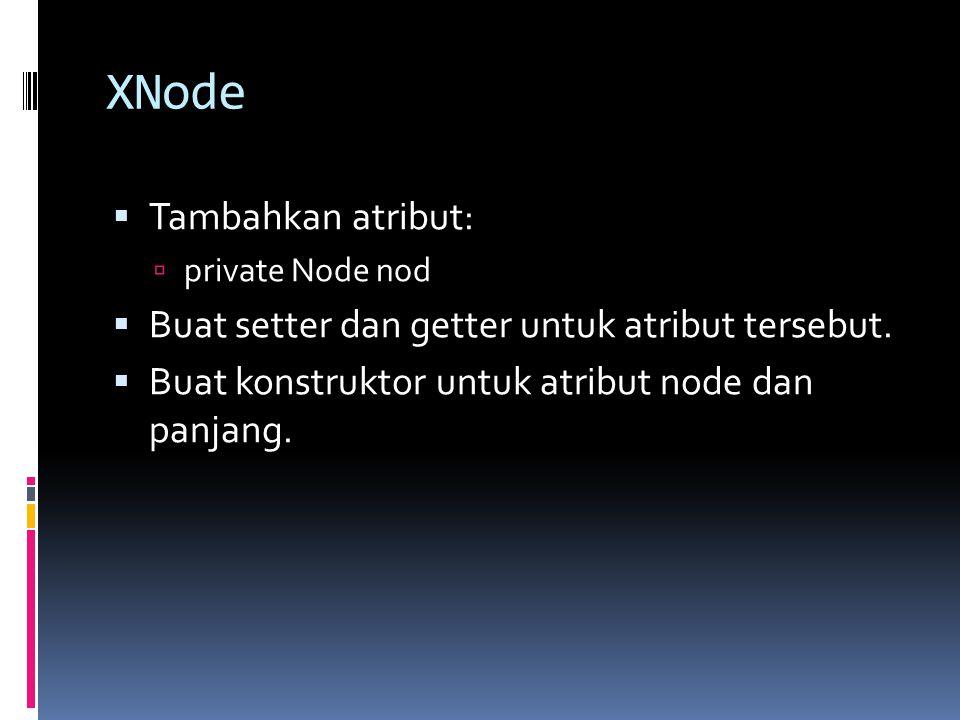 XNode Tambahkan atribut: