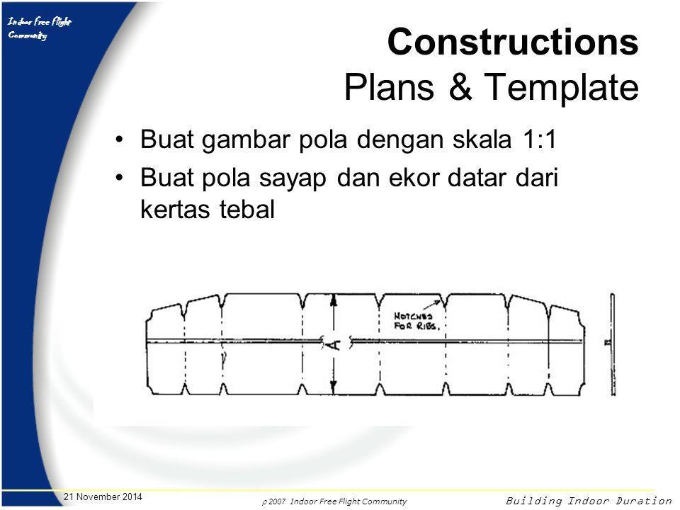 Constructions Plans & Template