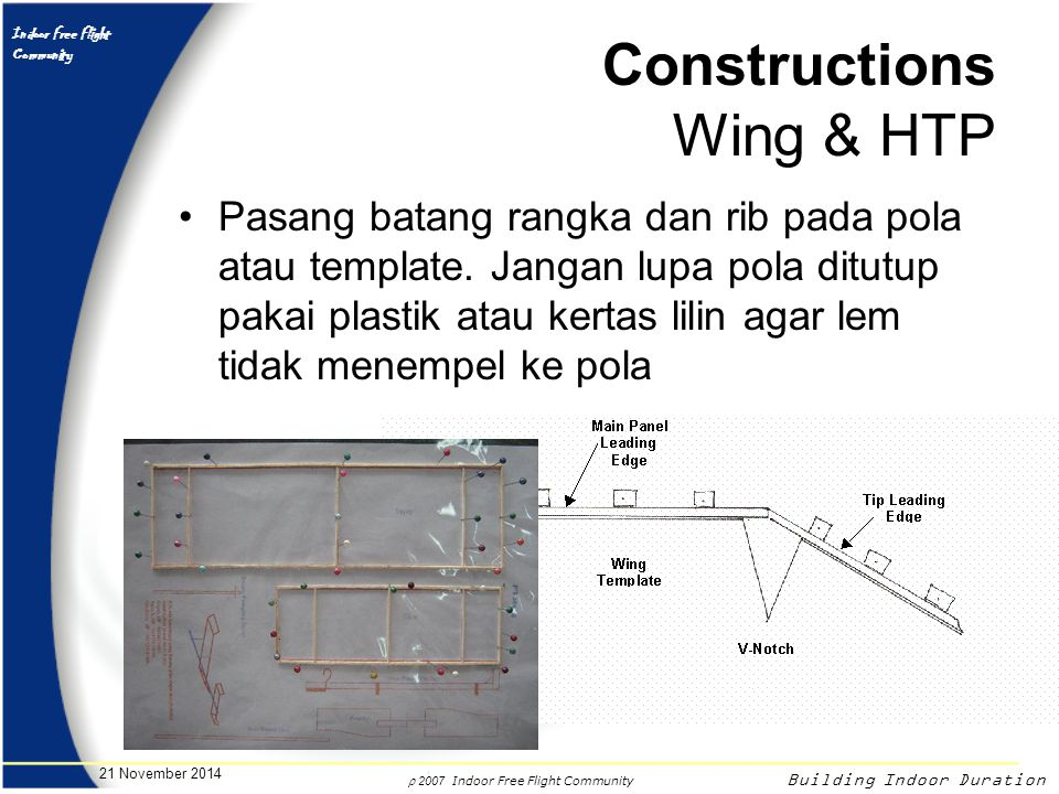 Constructions Wing & HTP