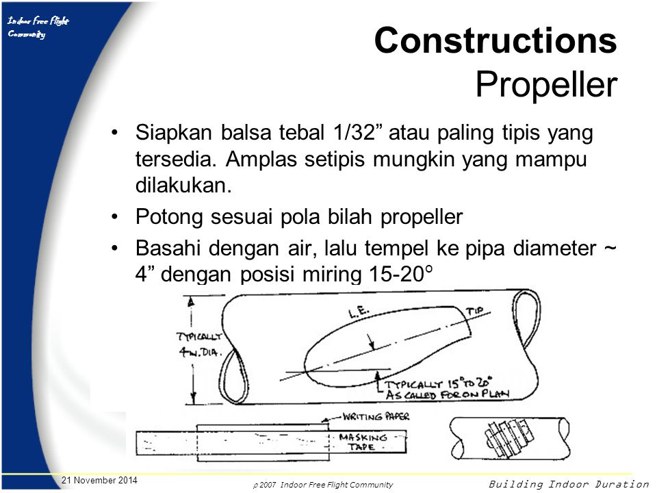 Constructions Propeller
