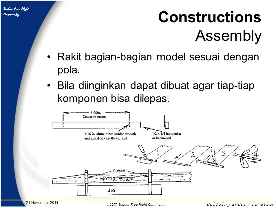 Constructions Assembly