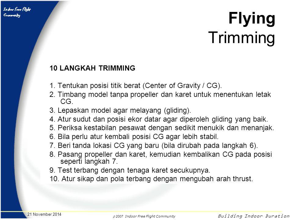 Flying Trimming 10 LANGKAH TRIMMING