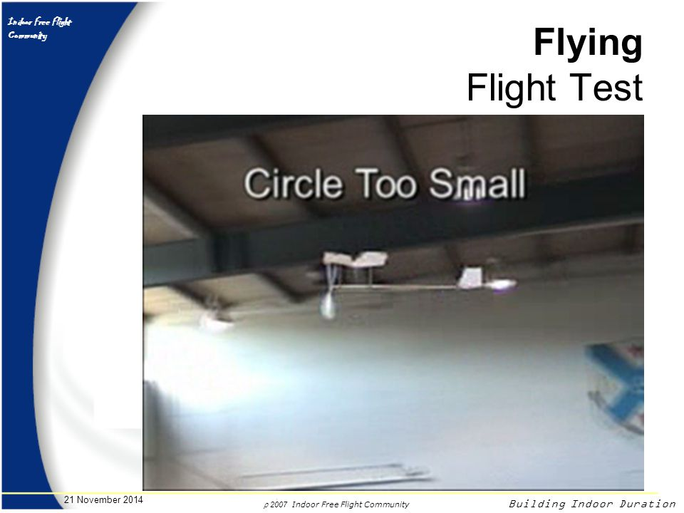 Flying Flight Test 7 April 2017