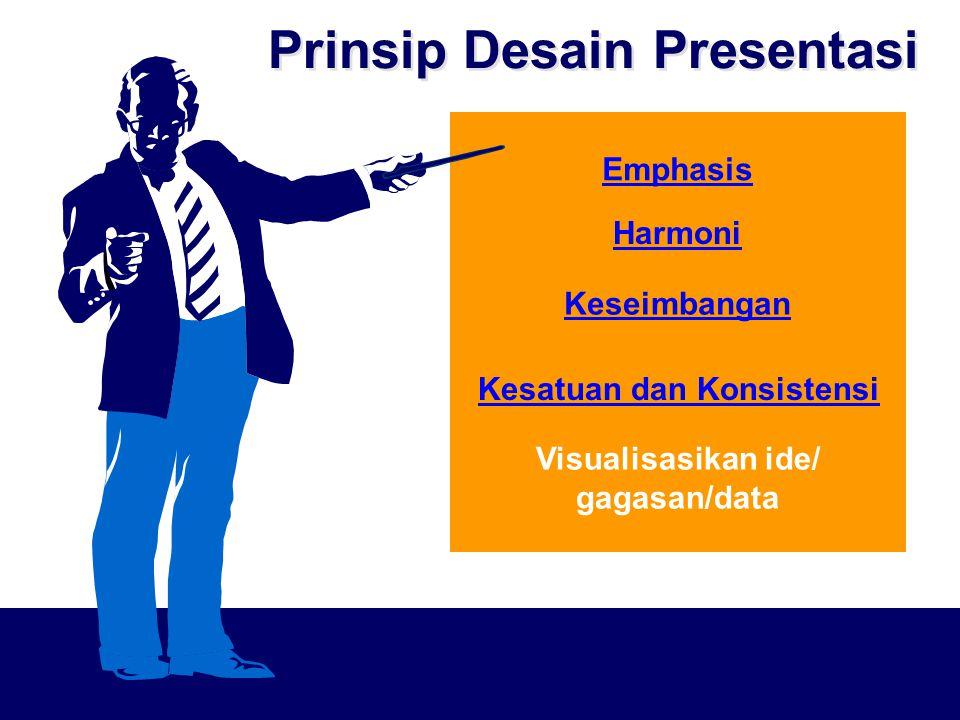 Prinsip Desain Presentasi