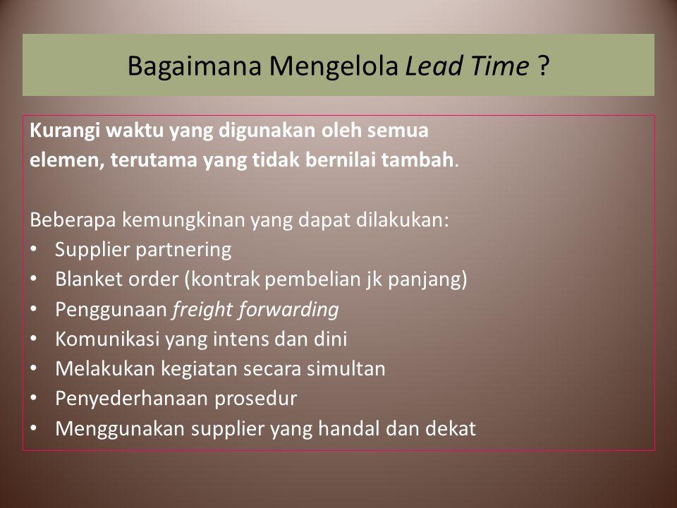 Bagaimana Mengelola Lead Time