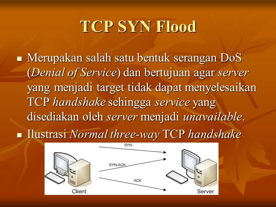 TCP SYN Flood